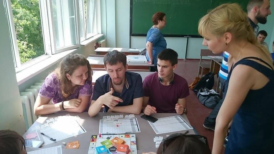 Игровой клуб в ОНПУ 4