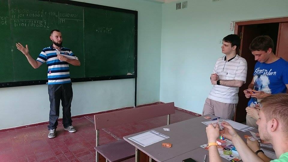 Игровой клуб в ОНПУ 2