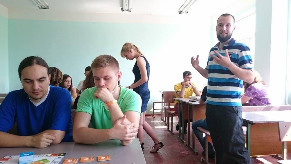 Игровой клуб в ОНПУ 0