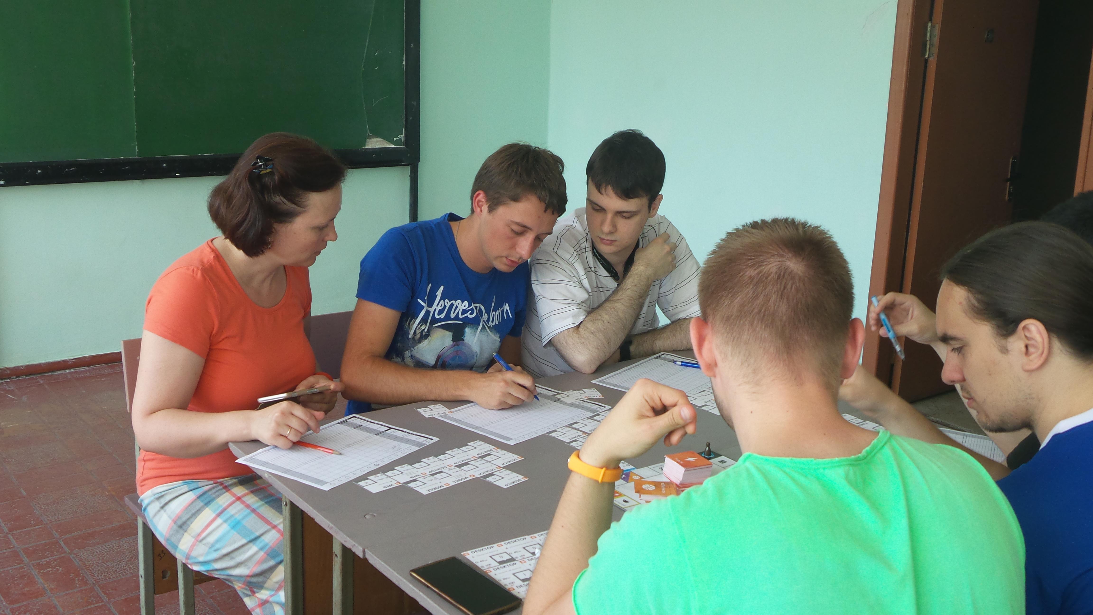 Игровой клуб в ОНПУ 1