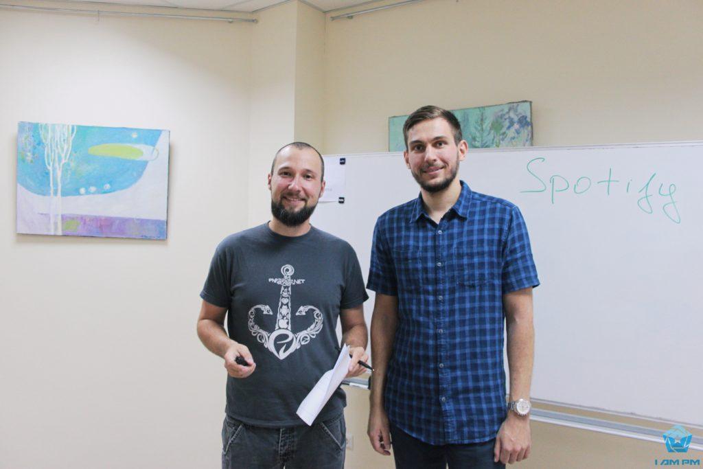 Ярослав Ротарь и Дмитрий Ховрич