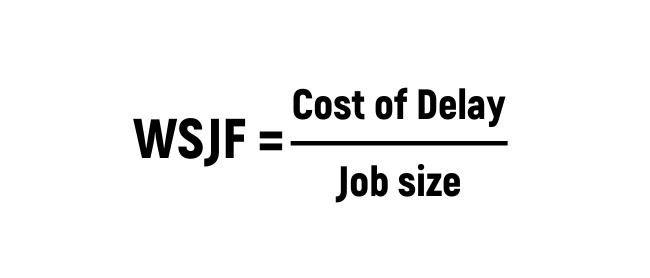 Формула WSJF