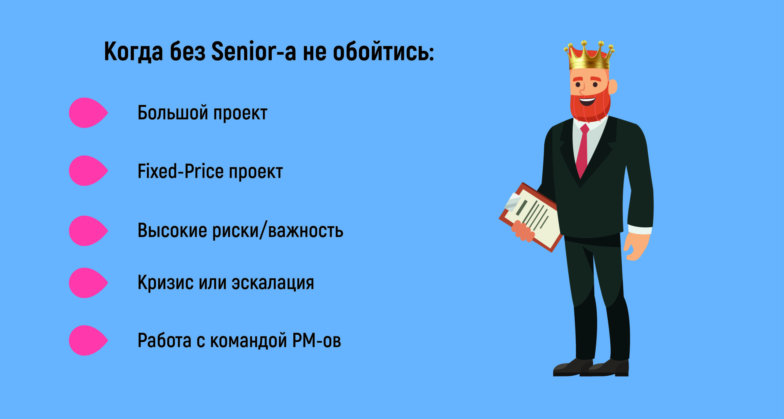 Senior Project Manager: что это за роль 1